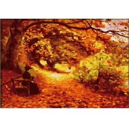 Купить Набор для рисования по номерам «Белоснежка» Осенний парк