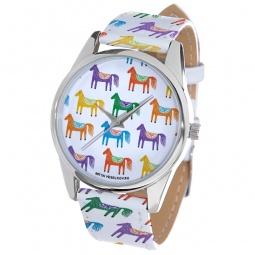 фото Часы наручные Mitya Veselkov «Цветные лошадки» ART