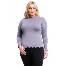 фото Водолазка Mondigo XL 1473. Цвет: серый. Размер одежды: 48