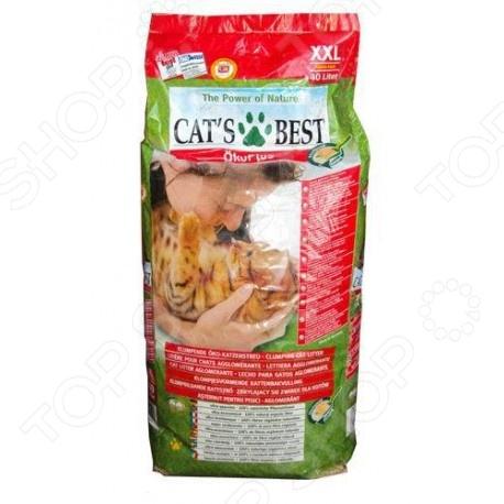 Наполнитель для кошачьего туалета Cat 39;s Best Eko plus позволит содержать дом в чистоте, устранит неприятные запахи и будет способствовать комфортной жизнедеятельности вашего питомца. Наполнитель производится из отборного сырья, абсолютно безопасного для животного. Эффективно впитывая влагу, наполнитель не пылит, не прилипает к шерсти и лапам животного, нейтрализует неприятные запахи. Использование наполнителя позволит вашему питомцу всегда оставаться чистым и здоровым.