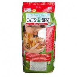 фото Наполнитель для кошачьего туалета Cat's Best Eko plus. Вес упаковки: 17,2 кг. Вместимость (в литрах): 40 л