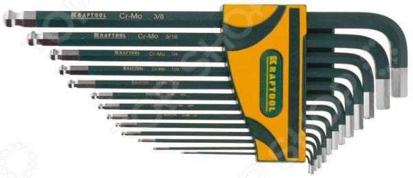 Набор ключей имбусовых длинных Kraftool Industrie 27444-H13 футболка с полной запечаткой для девочек printio terminator t800