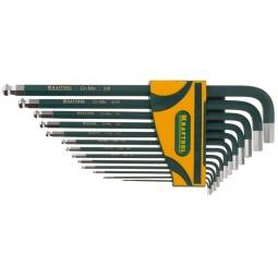 фото Набор ключей имбусовых длинных Kraftool Industrie 27444-H13