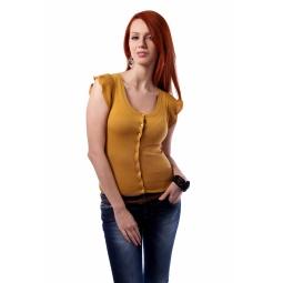 фото Жакет Mondigo 9432. Цвет: горчичный. Размер одежды: 46