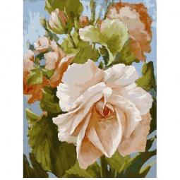 фото Набор для раскрашивания по номерам Белоснежка «Роза»