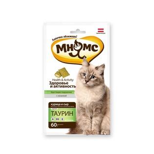Купить Лакомство для кошек Мнямс «Хрустящие подушечки. Здоровье и активность»