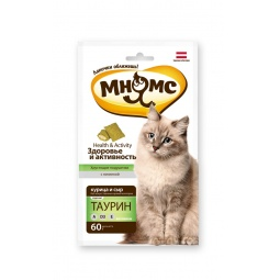 фото Лакомство для кошек Мнямс «Хрустящие подушечки. Здоровье и активность»