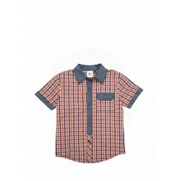Купить Рубашка с коротким рукавом Fore!! Axel and Hudson Playground Check Shirt