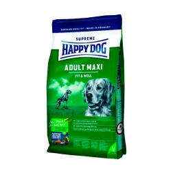 фото Корм сухой для собак крупных пород Happy Dog Adult Maxi Fit & Well