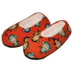 Купить Тапочки-балетки детские «Веселые обезьянки». В ассортименте