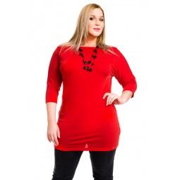фото Туника Mondigo XL 8508. Цвет: красный. Размер одежды: 50