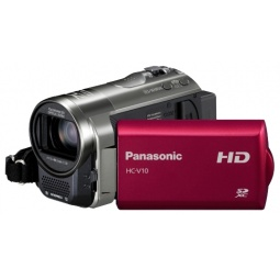 фото Видеокамера Panasonic HC-V10. Цвет: серый, красный
