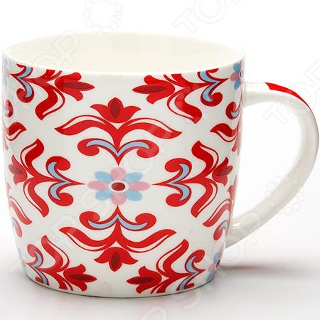 Кружка Loraine LR-24481Кружки. Чашки<br>Кружка Loraine LR-24481 - модель выполненная из керамики в оригинальном дизайне, станет красивым и полезным подарком для ваших родных и близких. Керамика - один из самых древних материалов, который использовали наши предки для изготовления посуды. С древних времен и до наших дней, керамическая посуда занимала важное место на кухне многих хозяек. Сегодня керамическая посуда по-прежнему пользуется большой популярностью и это не удивительно, ведь керамика - экологически чистый материал, который не наносит вреда здоровью, а кроме того керамическая посуда отличается большим разнообразие, поэтому каждый может выбрать изделие по своему вкусу.<br>