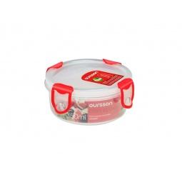 фото Контейнер для хранения продуктов Oursson Clip Fresh CP0400R. Цвет: красный