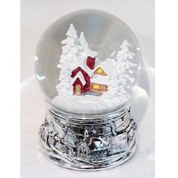 фото Декорация-шар музыкальная Новогодняя сказка «Зимние узоры» 972095