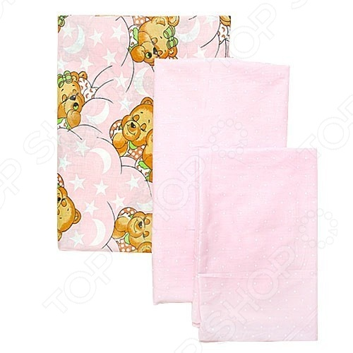 фото Комплект в кроватку Карапуз ЯВ114679, Постельные принадлежности для новорожденных
