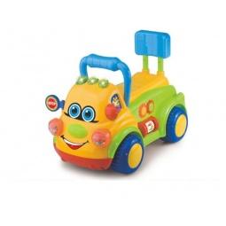 фото Машина-каталка со звуком Shantou Gepai «Веселая машинка»