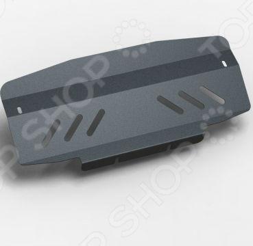 Комплект: защита раздатки и крепеж Novline-Autofamily Chevrolet Trailblazer 2013: 2,8 дизель/3,6 бензин АКППЗащита картера двигателя<br>Комплект: защита раздатки и крепеж Novline-Autofamily Chevrolet Trailblazer 2013: 2,8 дизель 3,6 бензин АКПП защитный набор для автомобильного двигателя и раздаточной коробки, весьма актуальный в условиях бездорожья. Установленный комплект представлен в виде металлической конструкции, чьей основной функцией является предотвращение механических повреждений во время наезда на препятствие. Изделие имеет дополнительные ребра жесткости для большей прочности. Крепежные элементы выполнены из холоднокатаной стали с катодно-цинковым и порошковым покрытиями против ржавчины и заедания резьбы при установке. Элементы защиты легко устанавливаются, не нарушая температурный режим и выхлопную систему машины. Современный метод 3D-сканирования позволил индивидуально разработать данный комплект ЗР специально для автомобиля Chevrolet Trailblazer. Высокоточные лазерные резаки и современные способы покраски гарантируют высокое качество изделия. В крепеже предусмотрены отверстия для слива масла, облегчая тем самым техническое обслуживание. Специальные демпферы предотвращают возникновение вибрации во время движения, надежно оберегая нижнюю часть кузова от ударов и трений с защитой. Товар, представленный на фотографии, может незначительно отличаться по форме от данной модели. Фотография представлена для общего ознакомления покупателя с цветовым ассортиментом и качеством исполнения товаров данного производителя.<br>