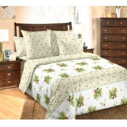 фото Комплект постельного белья Белиссимо с компаньоном «Ландыши». 2-спальный. Размер простыни: 220х195 см