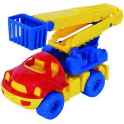 фото Машинка игрушечная Нордпласт дорожная «Малыш». В ассортименте