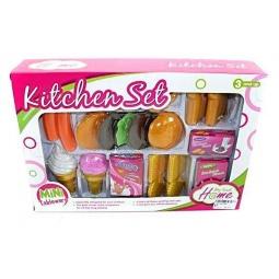 фото Игровой набор для ребенка Shantou Gepai «Продукты для игры в кафе» 628528