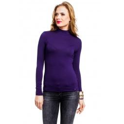 фото Водолазка Mondigo 036. Цвет: темно-фиолетовый. Размер одежды: 44