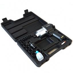 Купить Набор инструмента: пневмогайковерт с ударными головками Force F-4142