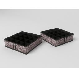 Купить Чехол для мелочей Ажур, 16 квадратных ячеек