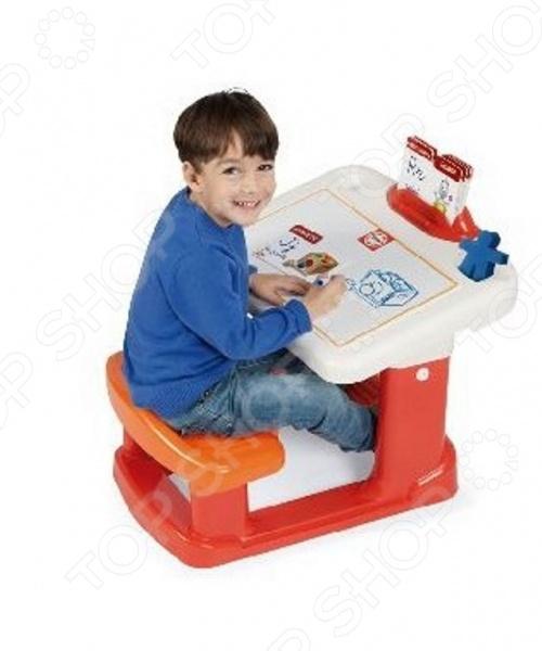 Парта детская Chicos Учимся писать станет верным помощником для вашего малыша на долгом и увлекательном пути знаний. Парта сочетает в себе функциональность и компактные размеры. Парта в считанные секунды складывается и может быть убран при ненадобности. В разложенном же состоянии парта обеспечивает максимум удобство для ребенка, позволяя ему полностью сосредоточится на учебе. Подарите своему малышу возможность комфортно учиться, развивать интеллектуальные и творческие способности радуя вас своими достижениями и победами в образовании.