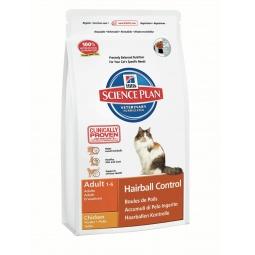фото Корм сухой диетический для кошек Hill's Science Plan Hairball Control. Вес упаковки: 5 кг