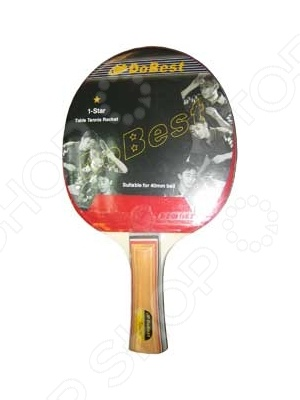 Ракетка для настольного тенниса DoBest BR01 1* ракетка для настольного тенниса torneo tour plustable tennis bat ti b3000