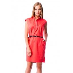фото Платье Mondigo 5082. Цвет: коралловый. Размер одежды: 46