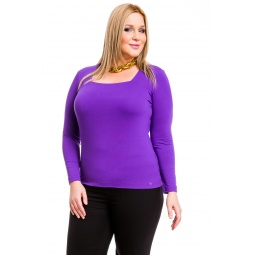 фото Кофта Mondigo XL 7014. Цвет: фиолетовый. Размер одежды: 48