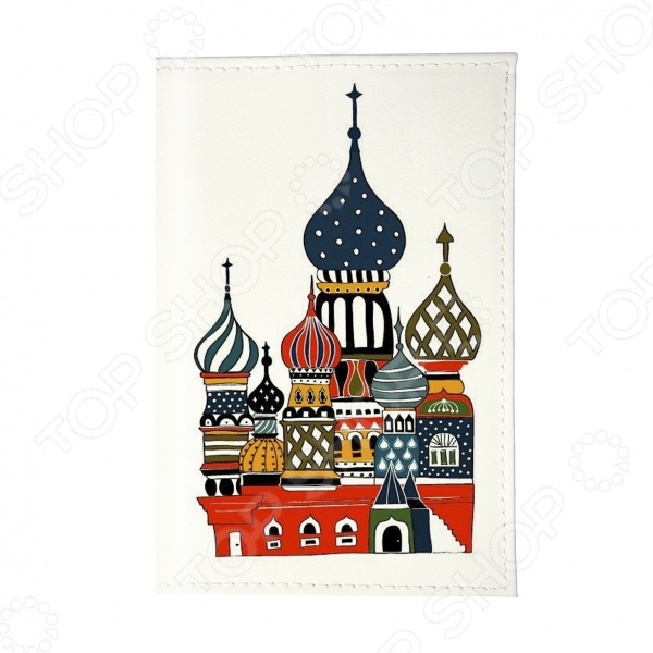 Визитница Mitya Veselkov «Храм» аксессуар