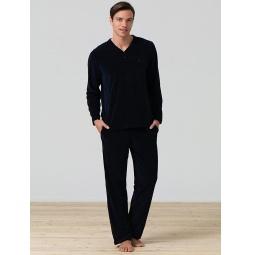 фото Комплект домашний мужской BlackSpade 7299. Цвет: темно-синий. Размер одежды: 2XL