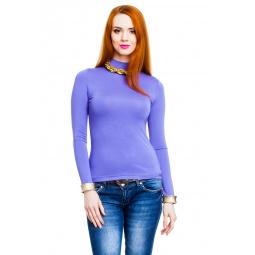 фото Водолазка Mondigo 036. Цвет: ярко-сиреневый. Размер одежды: 46