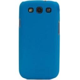 фото Чехол Muvit iGum для Samsung S3 i9300 Soft Touch. Цвет: синий