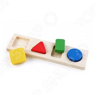 Игрушка обучающая Томик «Рамка-Вкладыш. Геометрия малая»