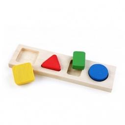 Купить Игрушка обучающая Томик «Рамка-Вкладыш. Геометрия малая»