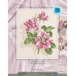 фото Набор для вышивания RTO «Розы Фердинанд Пишар»