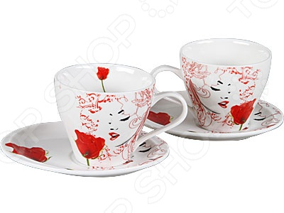 Чайная пара Rosenberg 8660Чайные и кофейные пары<br>Чайная пара Rosenberg 8660 незаменимый элемент повседневного чаепития. Иногда так приятно выпить чаю в компании близких и друзей из аккуратных чашек на блюдечках. Именно поэтому этот набор займет достойное место на любой кухне или же станет прекрасным подарочным вариантом в честь знаменательного события. В комплекте две чашки и два блюдца 15х11,5 см .<br>