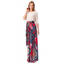фото Платье Mondigo 7048. Цвет: красный. Размер одежды: 46