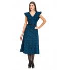 Фото Платье Mondigo 5182. Цвет: черный. Размер одежды: 42