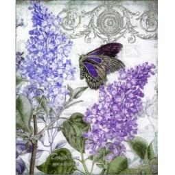 фото Дневник школьный Феникс «Сирень и бабочки»