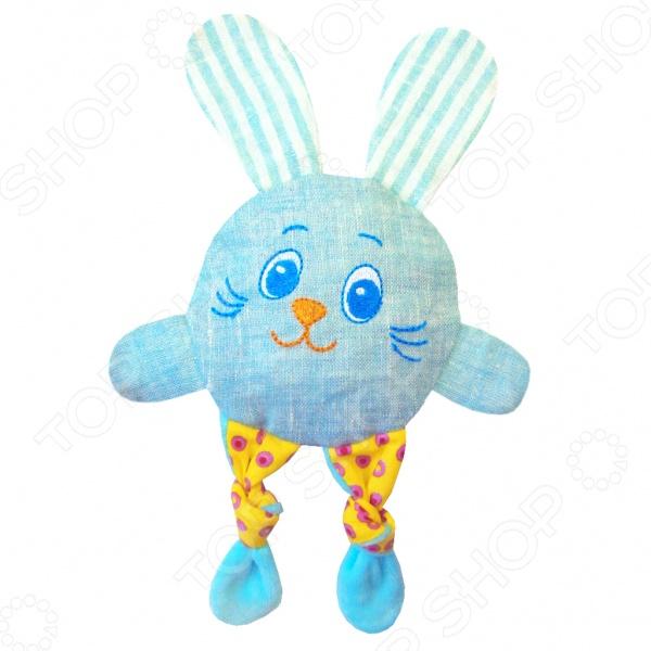 Мягкая игрушка развивающая Мякиши «Доктор Мякиш. Зайка кроха»