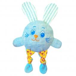 фото Мягкая игрушка развивающая Мякиши «Доктор Мякиш. Зайка кроха»