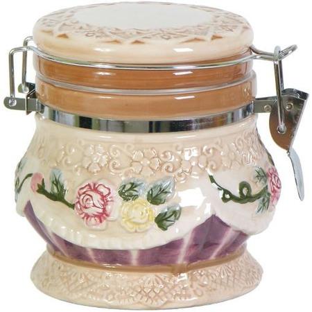 Купить Банка для хранения сыпучих продуктов Коралл «Романтика»