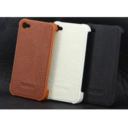фото Чехол кожаный для iphone 4/4s Yoobao Slim On Case