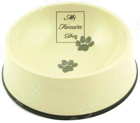 Миска для собак с окантовкой Beeztees Inner. My Favourite Dog