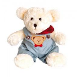 Купить Мягкая игрушка Gulliver Мишка в комбинезоне с красным платочком